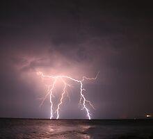 Lightning Strikes by Kuzeytac
