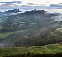 Malvern Hills Ridge by Cliff Williams