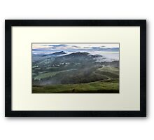 Malvern Hills Ridge Framed Print