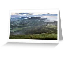 Malvern Hills Ridge Greeting Card