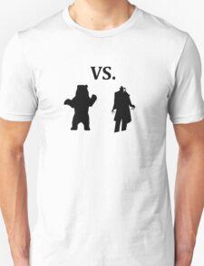 black bear vs demon Unisex T-Shirt