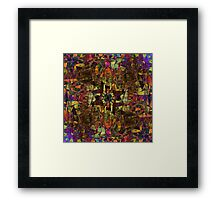 House of leaves Framed Print