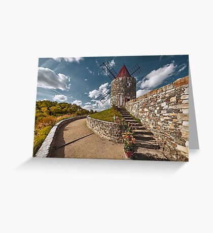 Windmill Fontvieille (Gifhorn) Greeting Card