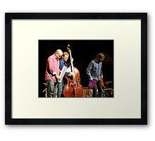 Medeski,Martin and Wood--Sherman Theather  Framed Print