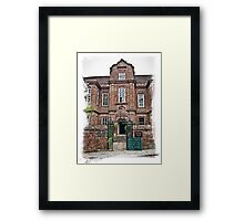Restoration House Framed Print