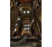 Peterborough Cathedral Photographic Print