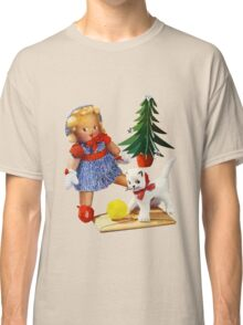 Knitted out for Christmas - Vintage Retro Tee Classic T-Shirt