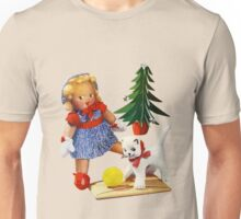 Knitted out for Christmas - Vintage Retro Tee Unisex T-Shirt