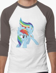 I'm a brony, Deal with it! Men's Baseball ¾ T-Shirt