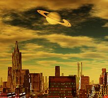 Gotham City - Ringworld by AlienVisitor