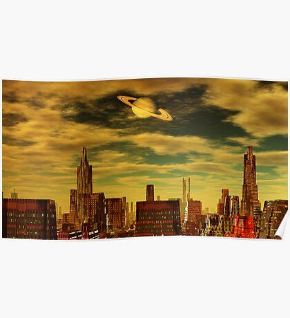 Gotham City - Ringworld Poster