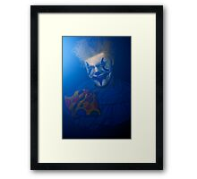 Clowns Are the Wave of the Future Framed Print