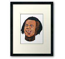 The Black Brad Pitt (Bromance #Special) Framed Print