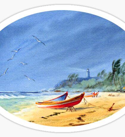 Puerto Rico - Maunabo Beach Sticker