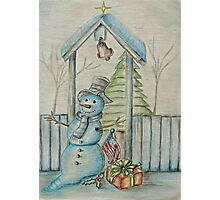 Christmas Day Photographic Print