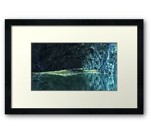 Blue Grotto - Saphirus - Orion Galaxy Framed Print