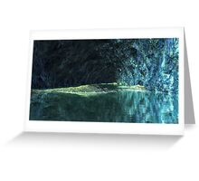 Blue Grotto - Saphirus - Orion Galaxy Greeting Card