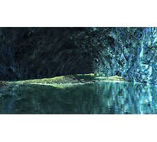 Blue Grotto - Saphirus - Orion Galaxy Photographic Print