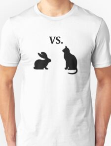 bunny vs cat  T-Shirt
