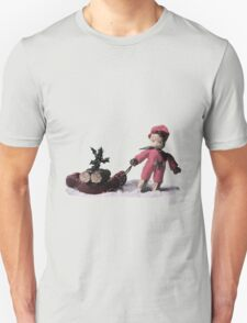 Holliday Tee – Scan from 1950's Needlework Illustrated  Unisex T-Shirt