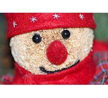 Christmas Bear :) Photographic Print
