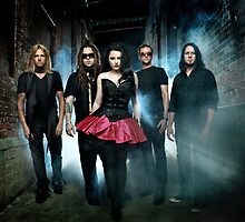 Evanescence, Amy Lee on the big scene by fine-art-prints