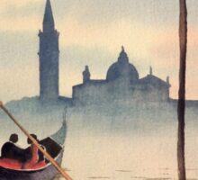 San Giorgio Island Venice Sticker