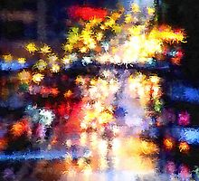 Rainy Night in the City by Brian Gaynor