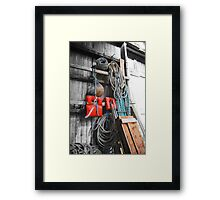 love of boats from the shed [1] Framed Print