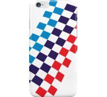 M checkered design iPhone Case/Skin
