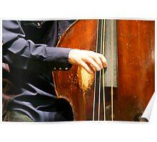 Bass Hands Poster