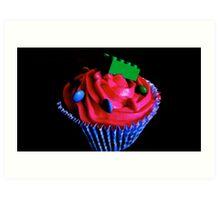 Lego Cupcakes Art Print