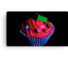 Lego Cupcakes Canvas Print