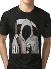 Death is Ticking Tri-blend T-Shirt