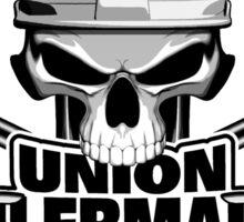Union Boilermaker: Welding Skull Sticker