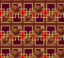 Cherry Turtle Pattern by SaradaBoru