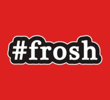 Frosh - Hashtag - Black & White Kids Tee