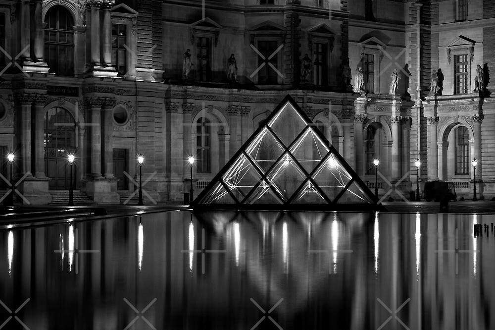 le louvre by julien tordjman redbubble. Black Bedroom Furniture Sets. Home Design Ideas