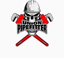 Union Pipefitter: Skull and Wrenches Unisex T-Shirt