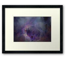 The Traveler series: #7 Framed Print