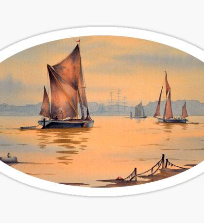 River Thames At Greenwich London Sticker