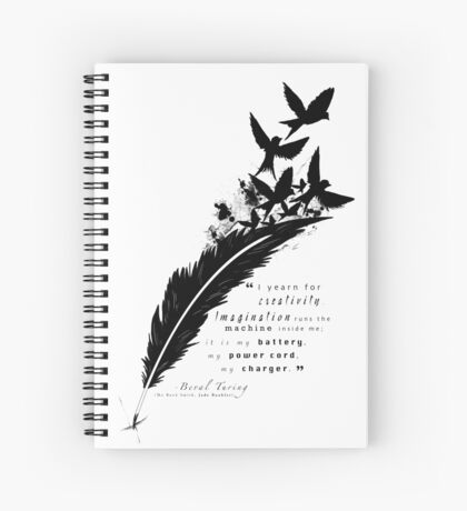 Creativity is my Outlet Spiral Notebook