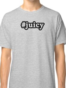 Juicy - Hashtag - Black & White Classic T-Shirt