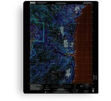 USGS TOPO Map Guam Talofofo 462411 2000 24000 Inverted Canvas Print