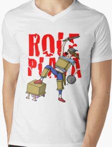 Role Playa Mens V-Neck T-Shirt