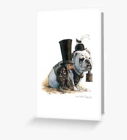 The Little Crooks of London Greeting Card