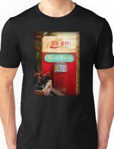 Vintage Korean Coca Cola Vending Machine Unisex T-Shirt