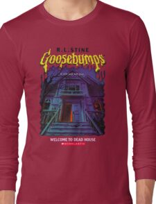 Goosebumps Welcome to the Dead House Long Sleeve T-Shirt