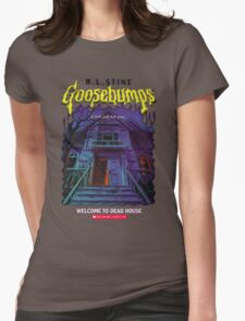 Goosebumps Welcome to the Dead House Womens Fitted T-Shirt