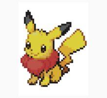 Pikachu and Eevee Splice Pokemon Pixel Art by foxorchid
